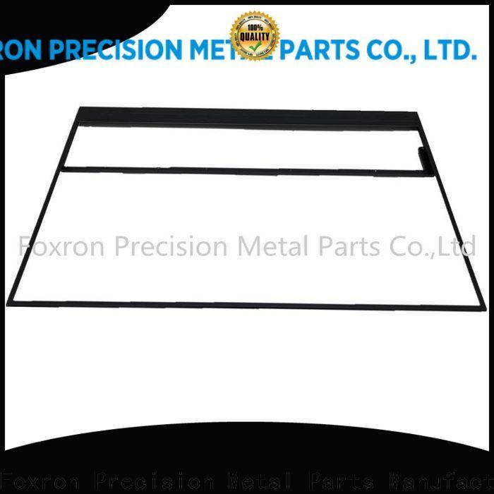 Foxron extrusion aluminium cnc machined parts for consumer electronic bracket