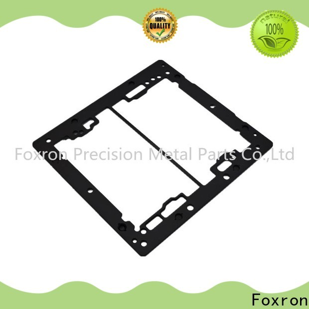 Foxron aluminium extrusion manufacturers electronic frame for consumer electronic bracket