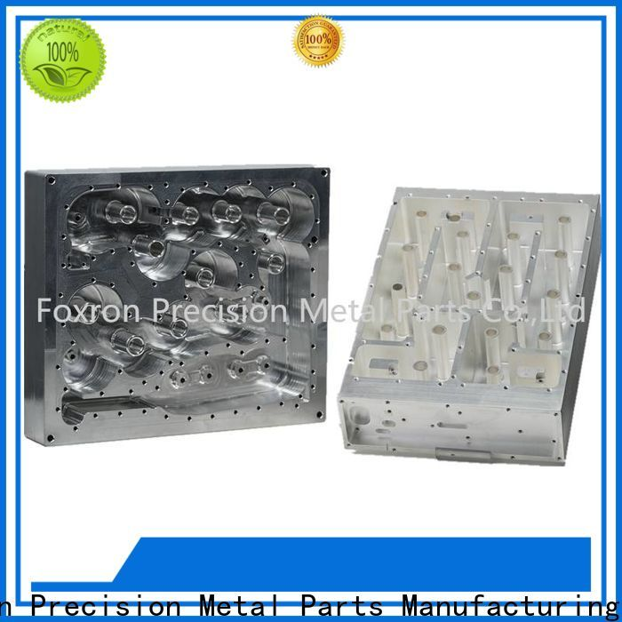 top aluminum cnc parts with oem service for telecom housing