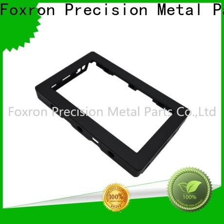 Foxron customized aluminium extrusion manufacturers factory for consumer electronic bracket