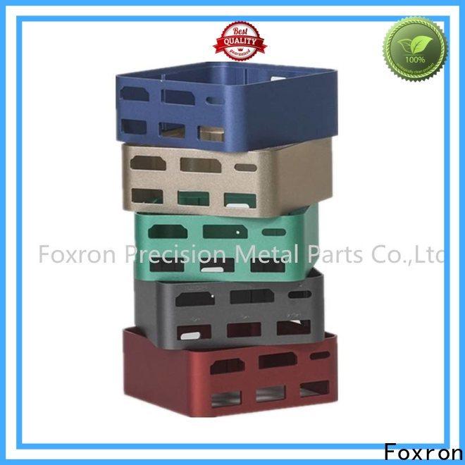 Foxron aluminium extrusion manufacturer for mini audio cases