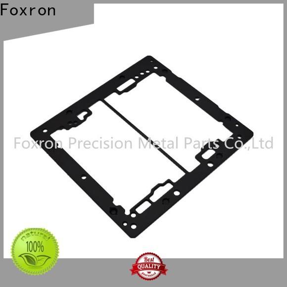 Foxron custom structural aluminum extrusions cnc machined parts for mini audio cases