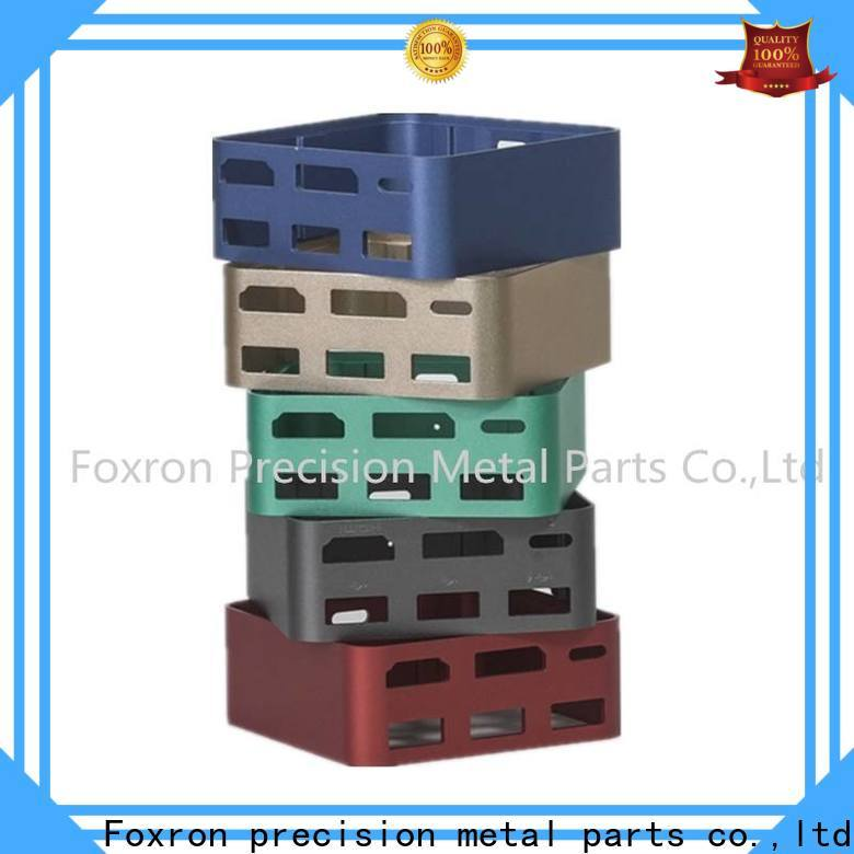 Foxron wholesale aluminium extrusion suppliers factory for consumer electronic bracket