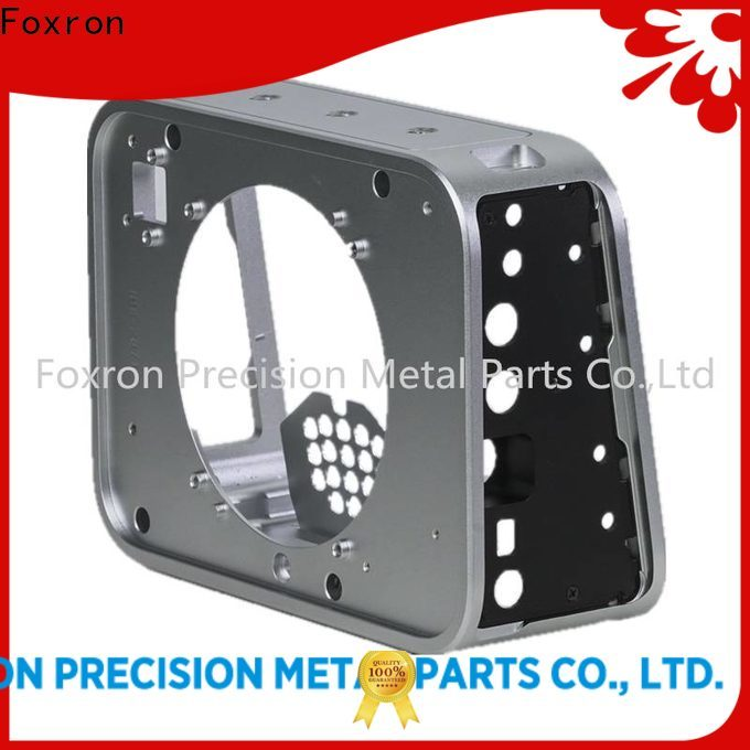 Foxron aluminum alloy metal enclosure manufacturers audio enclosures for camera enclosure