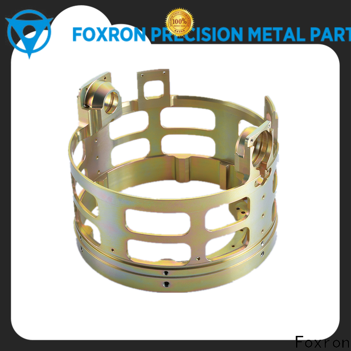 Foxron custom cnc parts bracket for consumer electronics