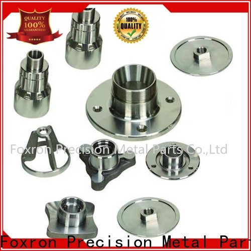 Foxron cnc turned components with oem service for automobile parts