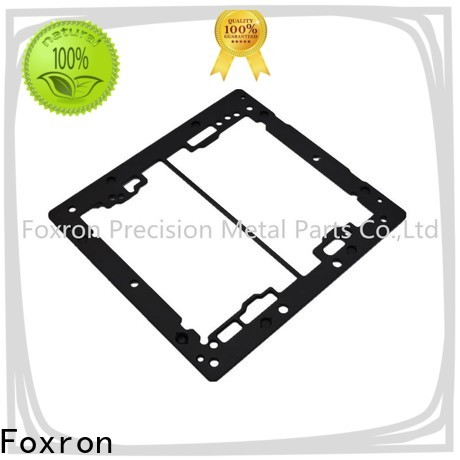 Foxron high quality aluminium extrusion suppliers bracket components for portable display monitor