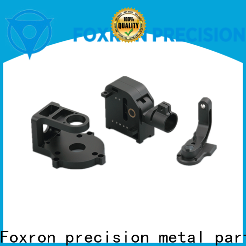 Foxron customized oem electronic parts metal stamping parts for audio control panels
