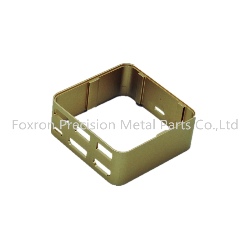 Customized aluminum extrustions CNC machined parts electronic components for mini audio cases