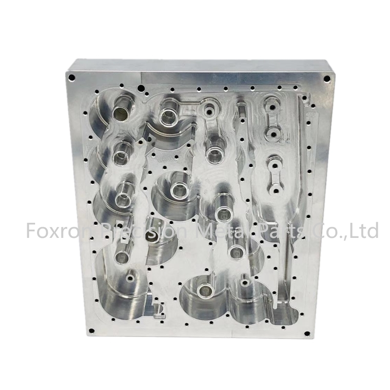 Customized CNC machined parts aluminum housings for telecom parts