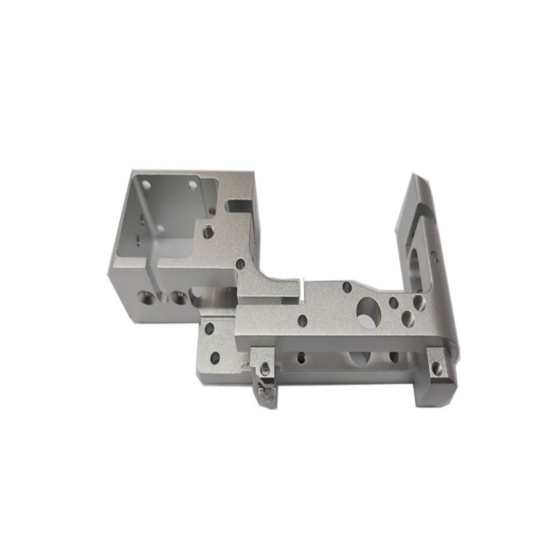 CNC machined part with anodizing surface treatment