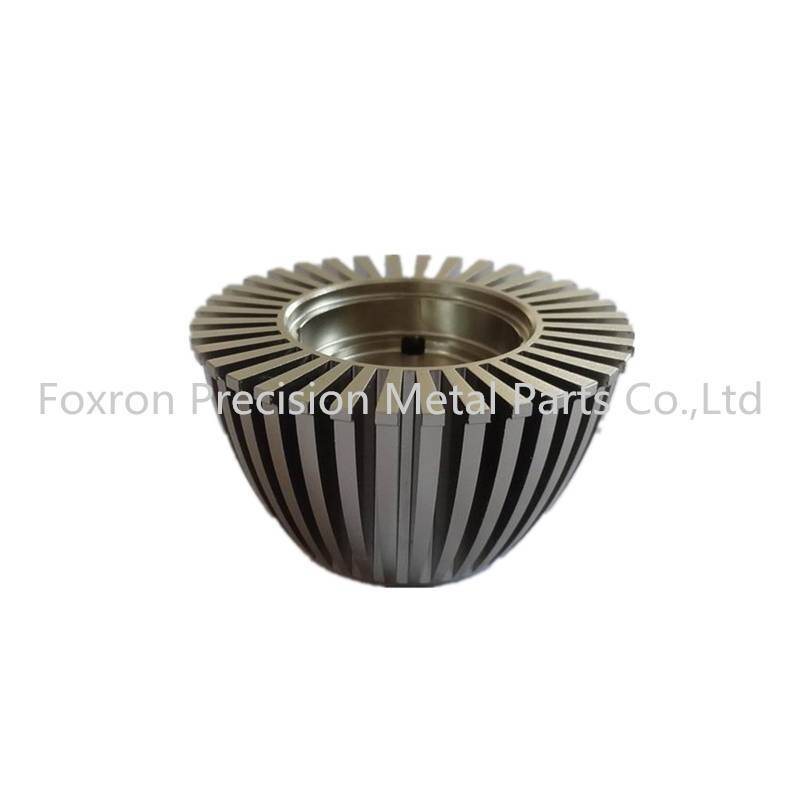 OEM Aluminum alloy extrustions heat sinks for LED light