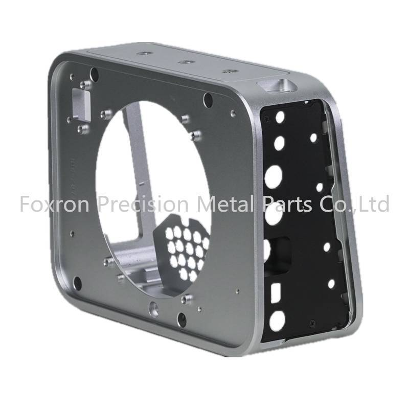Customized precision CNC machining parts OEM electronic components for camera enclosure