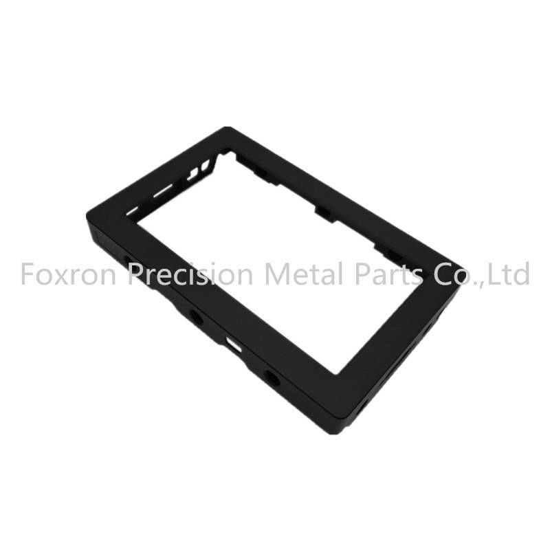 Aluminum extrustions CNC machined parts electronic components for consumer electronic bracket
