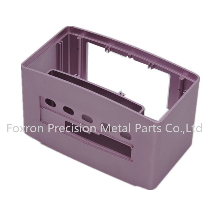 Aluminum extrustions enclosures OEM CNC parts electronic components for audio cases