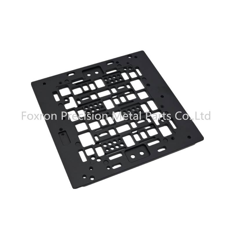 Customized CNC machined parts aluminum panels electronic components for electronic bracket