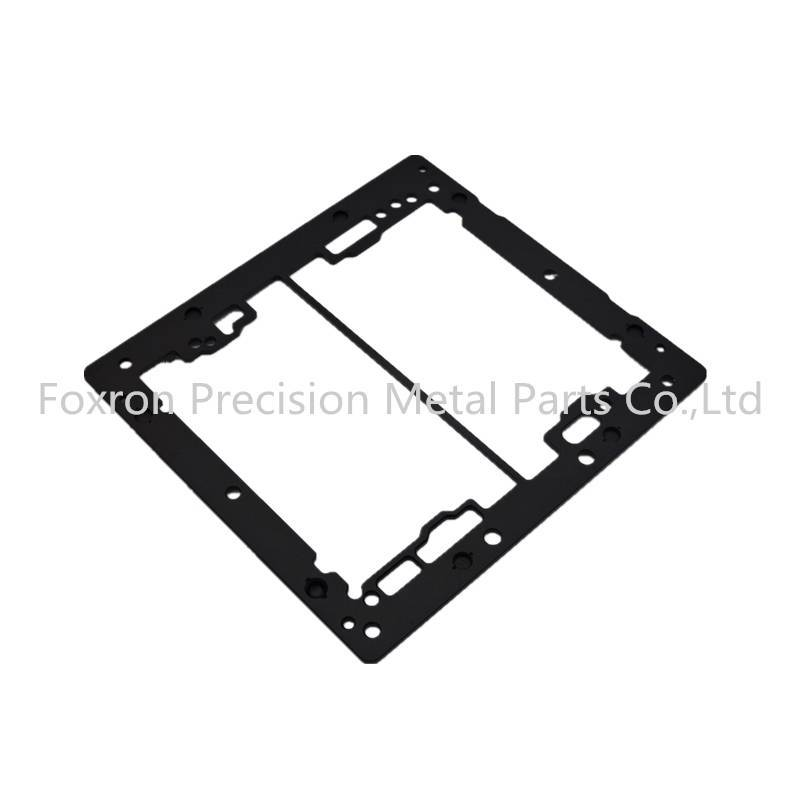 Aluminum extrustions service precision machining parts electronic bracket components
