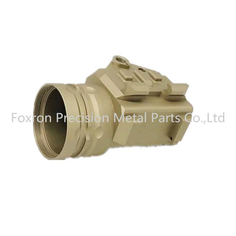 Aluminum Die casting parts electronic components light enclosure for military use