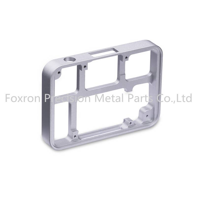 Aluminum alloy CNC machined parts customized electronic bracket for consumer electronics