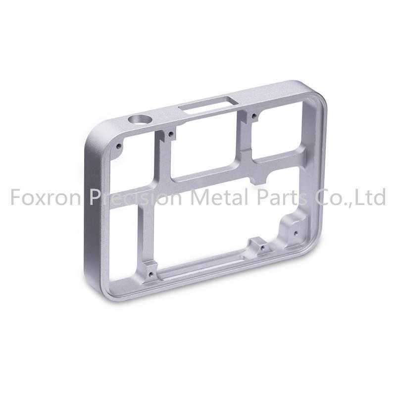 Aluminum alloy CNC machined parts customized electronic bracket for consumer electronics