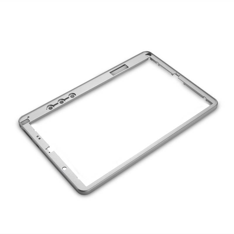 High precision machined parts CNC aluminum parts for tablet frames