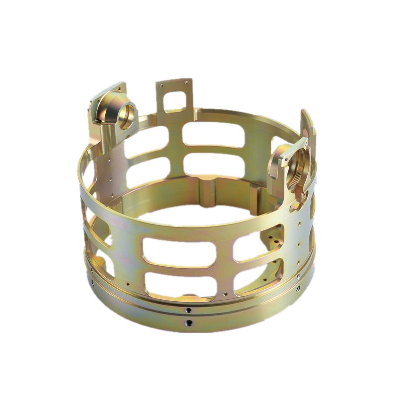Custom precision copper part CNC machining part  aerospace equipment accessories