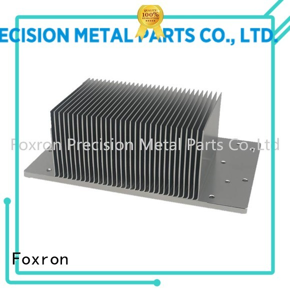 wholesale extruded aluminum heatsink cnc machined parts for electronic sector