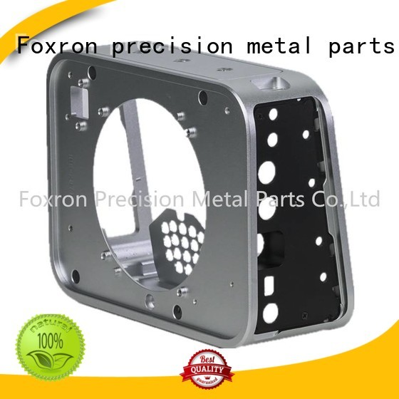 Foxron precision aluminium enclosure with customized service for camera enclosure